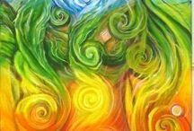 Chakras spirit art