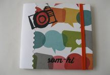 Mini-Album Preparant les vacances... / My workshop papers de Sucre. Mini Àlbum som-hi