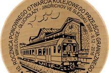 Kolejowe znaczki turystyczne