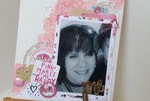 Scrapmatts Amy Little / Design Team Work Amy Little