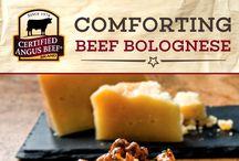 Beef bolognaise