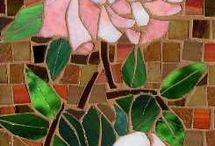 Mosaics flowers