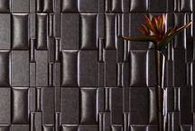 3D Bőr fal panelek