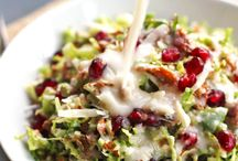 RECIPES Salads / There are so many countless ways to make a salad and so many delicious additions!  Salads make a great side or a fabulous meal!