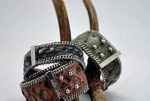 FALL   WINTER 16-17 / New collection Python bracelet And cuff. Nouvelle collection automne hiver 16-17 manchette et bracelet en Python