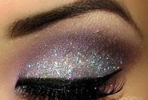 subtle, dramatic and full on out there eye makeup....luff it / by Natasha Halagigie