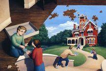 Rob Gonzalves festményei