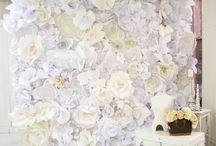 Flower backdrops