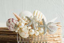 Bridal Hair Combs And Hair Drapes