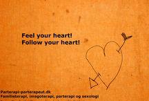 Kærlighed | Love / Fotos og citater om kærlighed og parterapi.