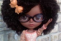 Like me / I'm so glad that my daughter has a chance to get cool dolls  that look just like her