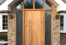 Oak Windows, Doors and Roof Lanterns / This is a very durable timber and is best used were you require a natural finish to really appreciate the beauty of the natural Oak with its deep grain patterns and long lasting timeless appeal. If finished with a natural oil it with natural weather to a silver grey and last forever.