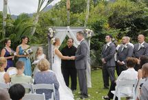 Hale Lokahi Estate / wedding venue providing accommodations for 25-28 guests, weddings up to 150.
