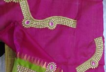 My own designing works / Maggam & Hand embroidery works