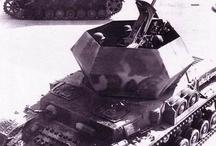 WW2 - OSTWIND / Flakpanzer IV Ostwind – (niem. Wschodni wiatr) niemieckie samobieżne działo przeciwlotnicze z okresu II wojny światowej zbudowane na podwoziu czołgu PzKpfw IV.