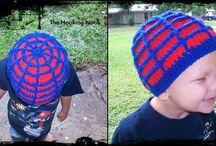 {crochet} child hat patterns / by Melissa Bissing