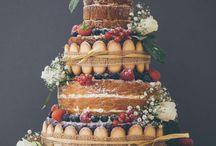 Torta nacked matrimonio