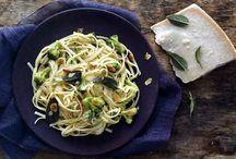 Μακαρόνια με μπρόκολο και αμύγδαλα / Γρήγορη και γευστική συνταγή για μακαρόνια με μπρόκολο