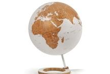 Mappemonde lumineuse/light globe