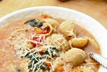 Soups / by Stefini Frisina