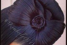 Sløyfe / En hår sløyfe som er enkel å lage til fest og bursdager