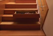 Escadas e corrimões