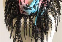 Black scarf / by Asuhan Scarf