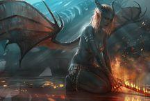 RPG Fantasy - Diabos e Demônios