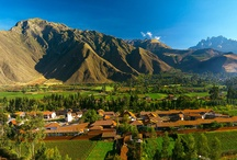 Around the Sacred Valley - Peru / The perfect setting from which to begin your dream journey to Machu Picchu. This tranquil setting is at a lower altitude than Cusco, making the walks and treks much more manageable. Replete with history and archeological sites, from the Pisac market to the Moray amphitheatre and the Maras Salt Mines. Family activities also abound, such as water rafting, horseback riding or even cooking lessons for the kids.  / by Aranwa Hotels