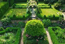 ogrody formalne, formowane, zabytkowe, topiary