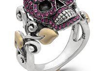Candy Skull Rings