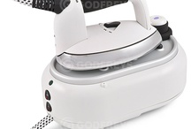 Ironing made EASY!!! / Godfreys have a range of steam irons and steam stations for you to use in the home. We stock top brand steam irons, including Laurastar and Hoover, and these are designed to de-crease your clothes as quickly as possible.