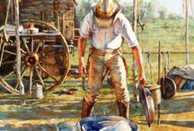 Cowboy And Mountain Men Art / by Bob and Peggy Cisko