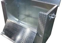 Steel Chequerplate / Tread plate, floor plate, chequer plate, diamond plate - so versatile they named it loads of times!
