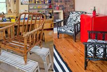 cane chair makeover