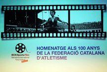Barcelona Internacional FICTS Festival HOMENATGE AL CENTENARI DE LA FEDERACIÓ CATALANA D'ATLETISME / Homenaje Centenario FCA