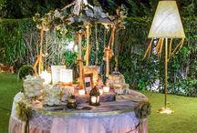 Whimsy wedding decor