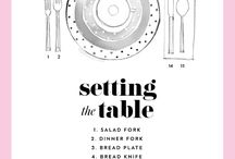 Setting table