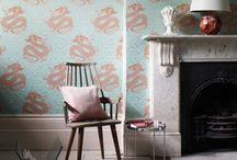 Osborne and Little wallpaper - Eden / The wonderful new wallpaper collection from Osborne and Little - Eden. #InteriorDesign