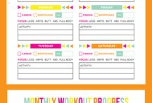 Planner Stuff to organize my life