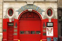 Engine 55, Broome Street, NY / FDNY Engine 55 at 363 Broome Street, New York City is a fire station designed by N. LeBrun & Sons and built in 1899. We are creating a plaster model of this building.