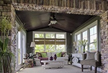 Outdoor Living / #Sunroom #Sunny #Sun #porch  / by Schumacher Homes