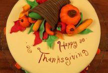 Thanksgiving cakes