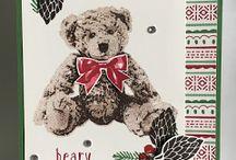 Stampin' Up! Baby Bear Stamp Set