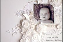 Lucious Baby Layouts / Scrapbook Layouts