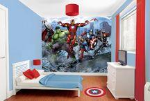 Avengers / Suivez la sortie du dernier Avengers avec nos papiers peints et stickers !