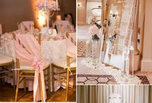 Blush/ gold wedding color scheme