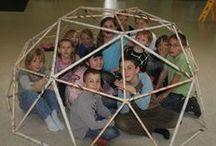 Geodätische Kuppel bauen