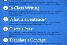 ESL / Best practices in teaching ESL, ELLs and emerging bilinguals.