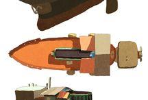 Concept art: Vehicles